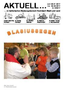 im katholischen Seelsorgebereich Kulmbach Stadt und Land