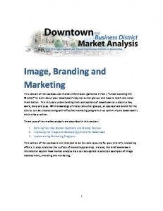 Image, Branding and Marketing