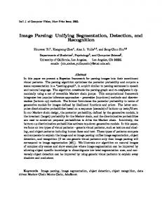 Image Parsing: Unifying Segmentation, Detection, and Recognition
