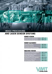 IMAGE PROCESSING AND LASER SENSOR SYSTEMS