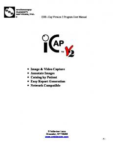Image & Video Capture Annotate Images Catalog by Patient Easy Report Generation Network Compatible