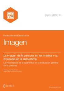 Imagen. La imagen de la persona en los medios y su influencia en la autoestima. Revista Internacional de la