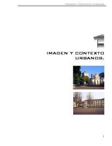 Imagen y Contexto Urbanos IMAGEN Y CONTEXTO URBANOS