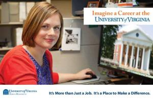 Imagine a Career at the. It s More than Just a Job. It s a Place to Make a Difference