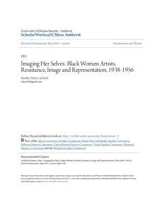 Imaging Her Selves: Black Women Artists, Resistance, Image and Representation,