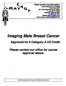 Imaging Male Breast Cancer