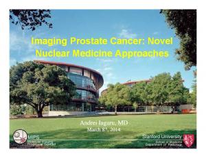 Imaging Prostate Cancer: Novel Nuclear Medicine Approaches