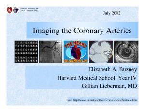 Imaging the Coronary Arteries