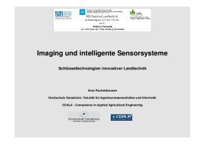 Imaging und intelligente Sensorsysteme