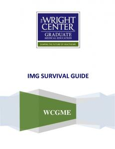 IMG SURVIVAL GUIDE WCGME