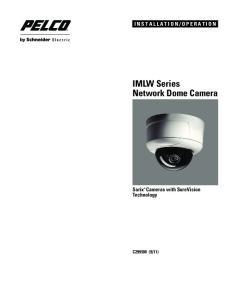 IMLW Series Network Dome Camera