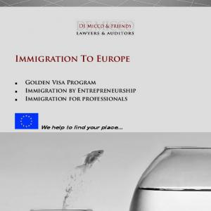 Immigration To Europe