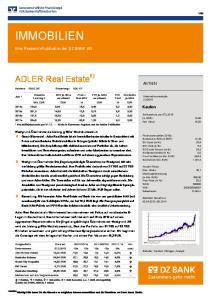 IMMOBILIEN. ADLER Real Estate 6)