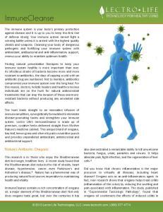 ImmuneCleanse. Nature s Antibiotic: Oregano