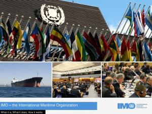 IMO the International Maritime Organization. What it is, What it does, How it works