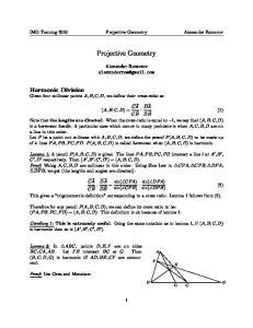 IMO Training 2010 Projective Geometry Alexander Remorov. Projective Geometry. Alexander Remorov DA DB