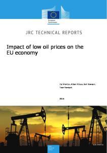 Impact of low oil prices on the EU economy
