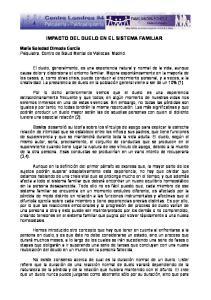IMPACTO DEL DUELO EN EL SISTEMA FAMILIAR