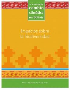 Impactos sobre la biodiversidad
