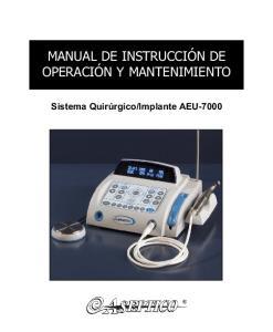 Implante AEU-7000