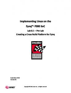 Implementing Linux on the Zynq SoC