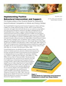 Implementing Positive Behavioral Intervention and Support: