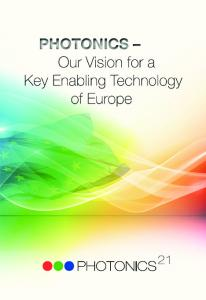 Imprint. Published by: European Technology Platform Photonics21
