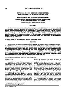 IMPRINTING ZEOLITE-MODIFIED GLASSY CARBON AS A VOLTAMMETRIC SENSOR FOR URIC ACID