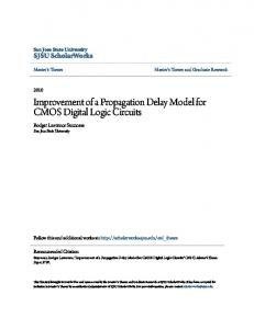 Improvement of a Propagation Delay Model for CMOS Digital Logic Circuits