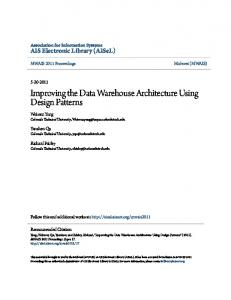 Improving the Data Warehouse Architecture Using Design Patterns