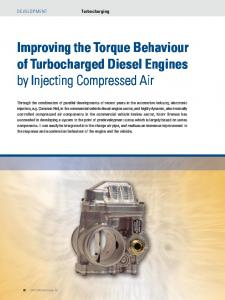 Improving the Torque Behaviour of Turbocharged Diesel Engines by Injecting Compressed Air