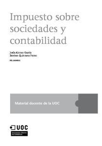 Impuesto sobre sociedades y contabilidad
