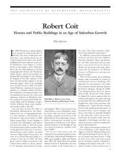 In 1890 Winchester resident Robert