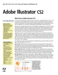 in Adobe Illustrator CS2