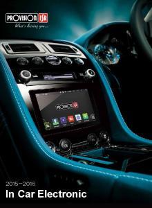 In Car Electronic