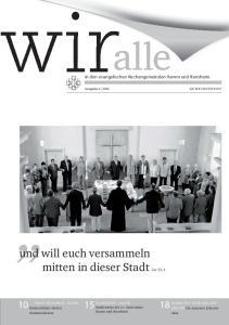 in den evangelischen Kirchengemeinden Hamm und Ibersheim