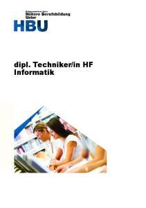 in HF Informatik