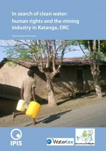 In search of clean water: human rights and the mining industry in Katanga, DRC