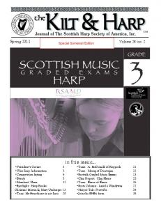 in this issue Spring 2011 Volume 28: no. 2