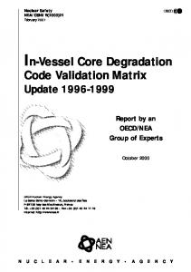 In-Vessel Core Degradation