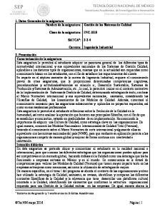 INC-1015 SATCA 1 : Carrera: