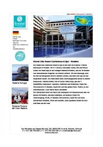 Inclusive Resort Enotel Lido Resort Conference & Spa - Madeira