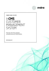 InCMS CUSTOMER MANAGEMENT SYSTEM