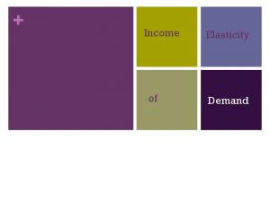 Income. Elasticity. Demand
