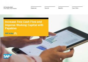 Increase Free Cash Flow and Improve Working Capital with Payables