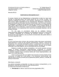 INDEPENDENCIAS IBEROAMERICANAS 2