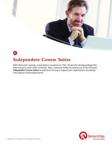 Independent Course Suites