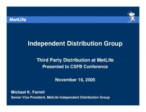 Independent Distribution Group