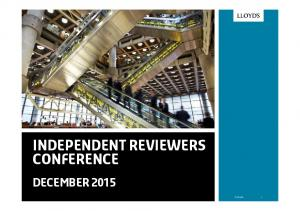 Independent Reviewers Conference