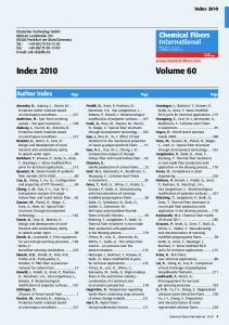 Index 2010 Volume 60